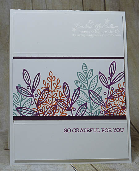 Lighthearted Leaves from Stampin Up