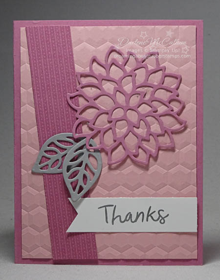 May Flowers Framelits from Stampin Up