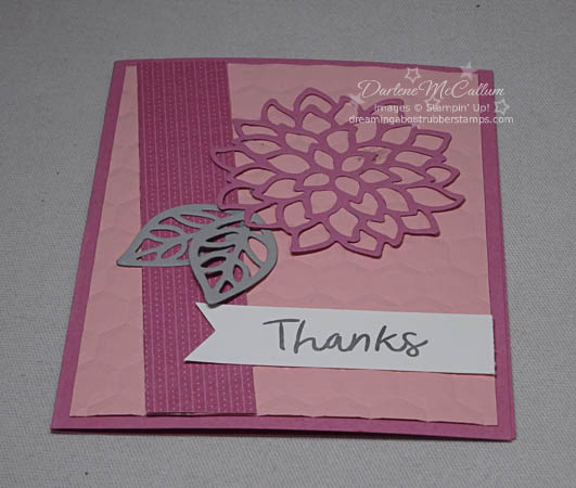 May Flowers Framelits and Thankful Thoughts Stamp