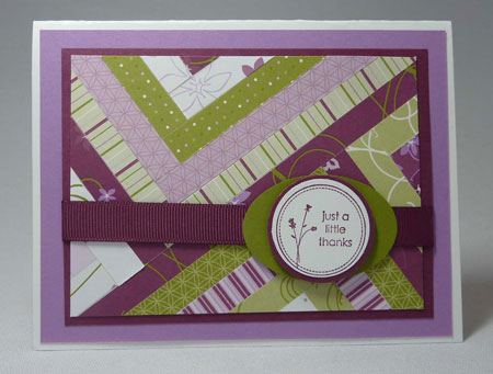 Stampin' Up! Matchbox Messages