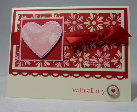 Stampin' Up! With All My Heart
