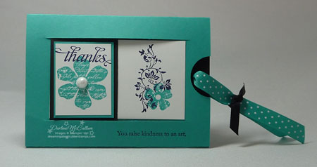 Stampin' Up! Slider Card
