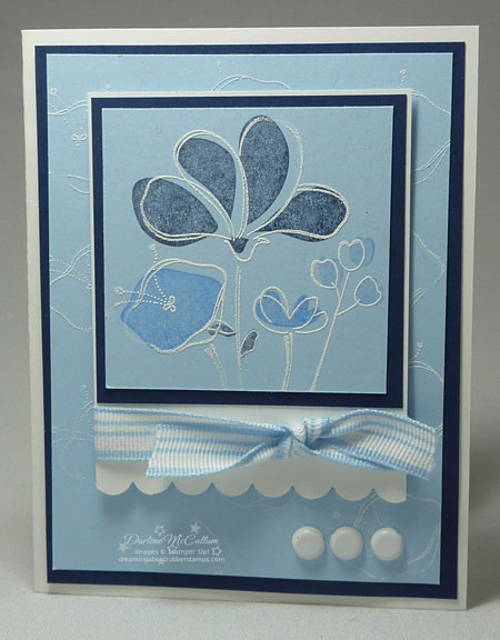 Stampin' Up! Awash with Flowers Stamp Set