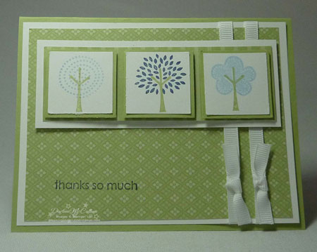 Stampin' Up! Trendy Trees