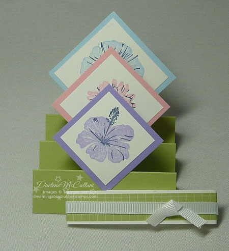 Stampin Up Greenhouse Garden