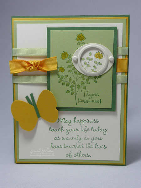 Stampin' Up! Herb Expressions