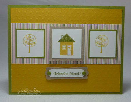 Stampin up Good Neighbors