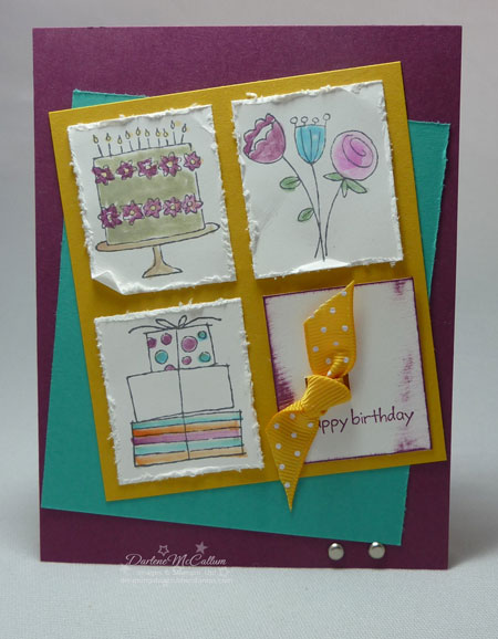 Stampin up Happy Moments