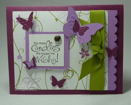 Stampin up Whimsicla Words