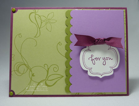 Stampin Up Great Friend
