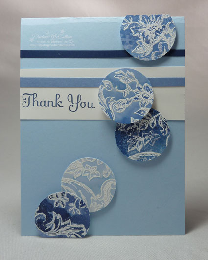 Stampin Up Bella Toile Stamp