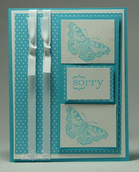 Stampin up All a Flutter