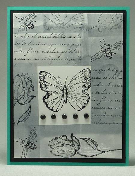 Stampin Up Flores Suaves