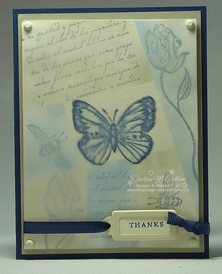 Stampin Up F;lores Suaves