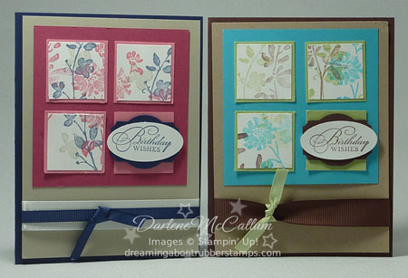 Stampin' Up Canada Watercolor Trio