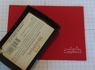 Step 1 - Patent Leather Embossing