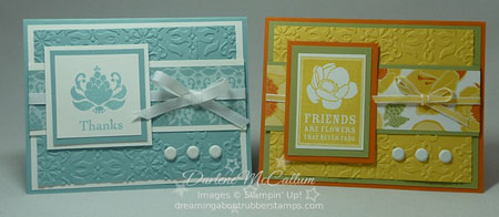 Stampin Up Friends Never Fade and Greenhouse Gala
