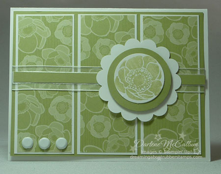 Stampin Up Pear Pizzazz