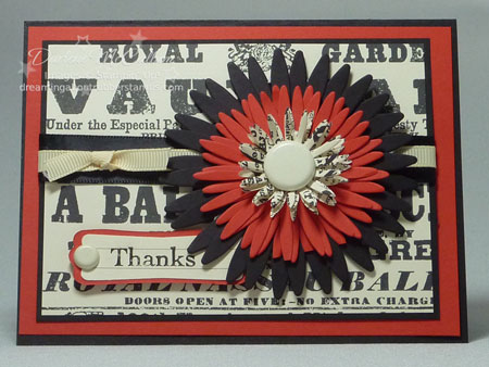 Stampin up Poppy Parade