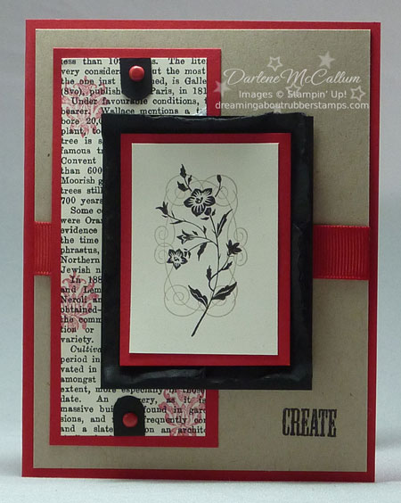 Stampin Up Charming Stamp Set