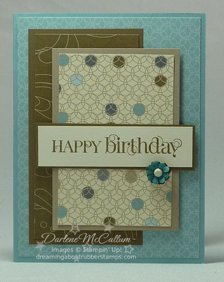 Stampin Up Curly Cute Stamp Set