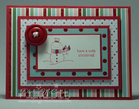Stampin Up A Cute Christmas Set