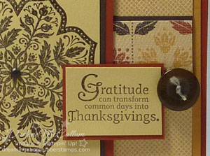 Stampin Up Days of Gratitude