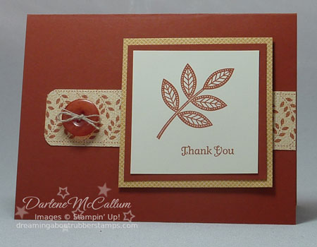 Days of Gratitude by Stampin Up