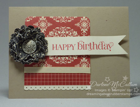 Stampin Up Love Letter #1
