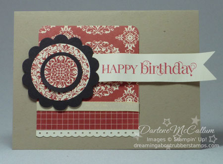 Stampin Up Love Letter #2