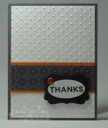 Stampin Up Nite Owl Paper