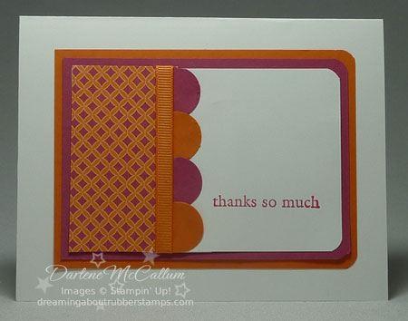 Stampin Up Canada Sweet & Sour DSP