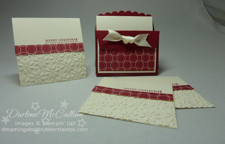 Stampin Up Canada Big Shot Scallop Envelope