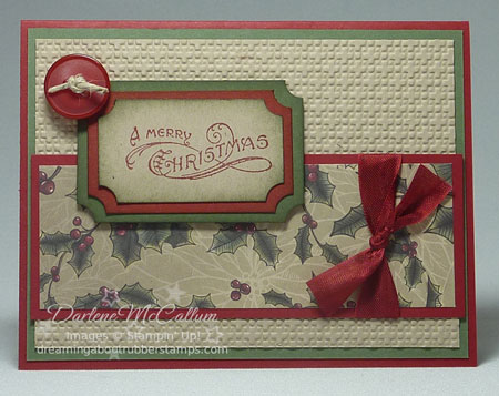Stampin Up Canada Vintage Christmas Holiday Bundle
