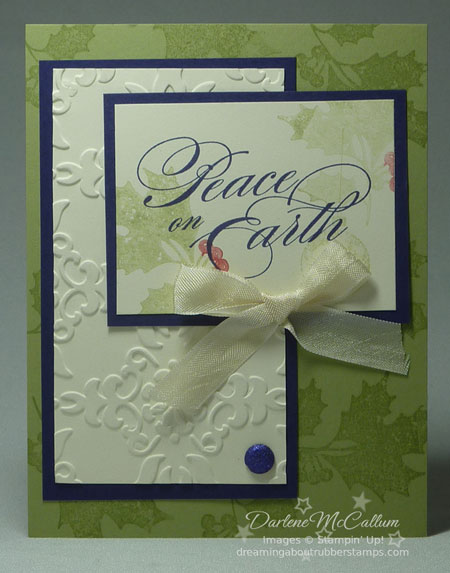 Stampin Up Canada Peaceful Season