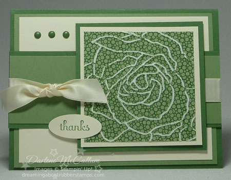 Woodland Walk by Stampin Up Card #1