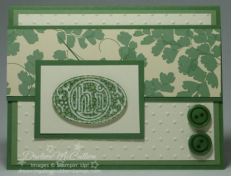Woodland Walk by Stampin Up Card #2