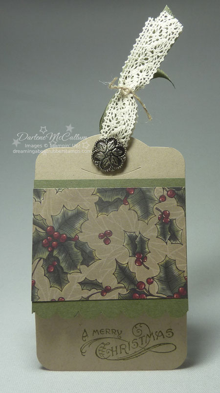 Bells & Boughs Vintage Bundle Tag