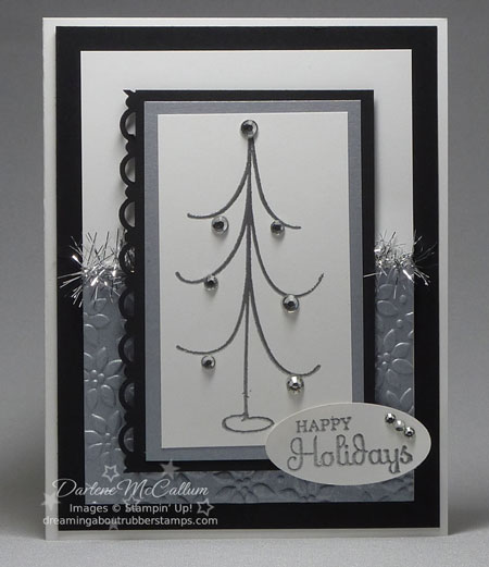 Stampin Up Canada Holiday Happiness Christmas Card