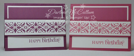 Stampin Up Canada Decor Wheel Cards