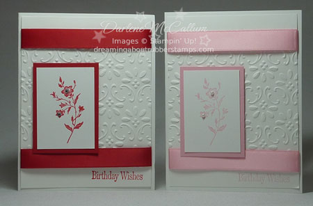 Stampin Up Canada Birthday Cards