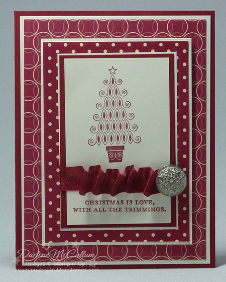Stampin Up Canada Contempo Christmas
