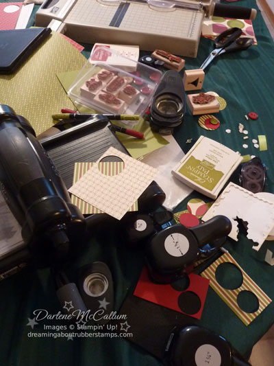 My Messy Stampin' Up! Workspace