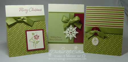 stampin up canada jolly holiday paper