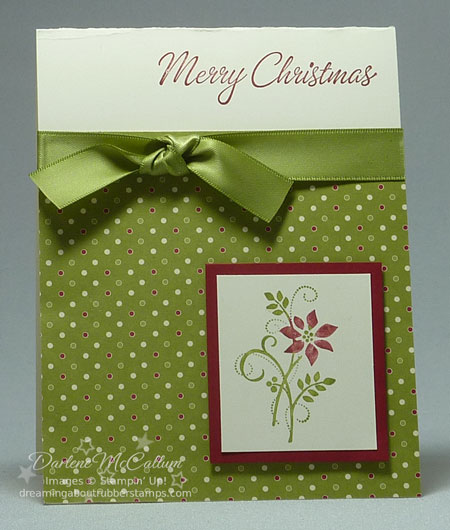 Stampin Up Canada Gifts of Christmas Stamp Set