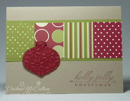 Stampin Up Canada Jolly Holiday