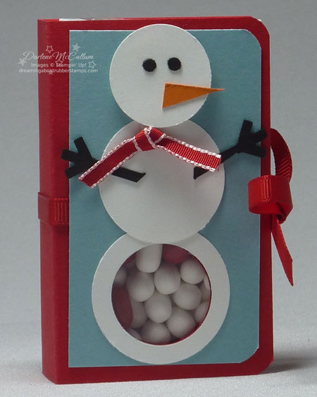 Snowman Kisses with Stampin Up Canada Products