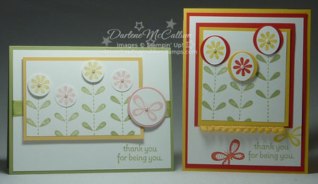 Stampin Up Bold Blossom Stamp Set