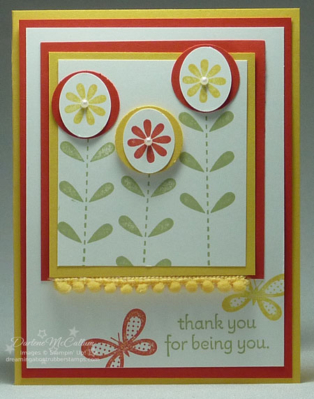 Stampin Up Canada Bold Blossom Card