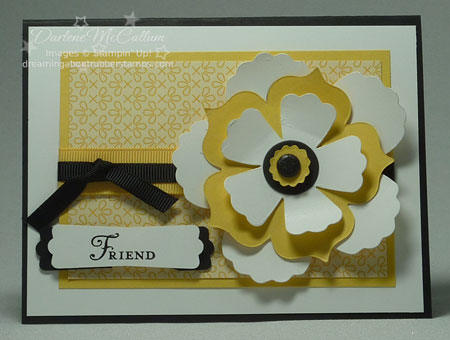 Fun Flowers Bigz Die Card